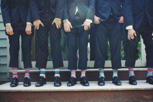 גרביים עם צורות