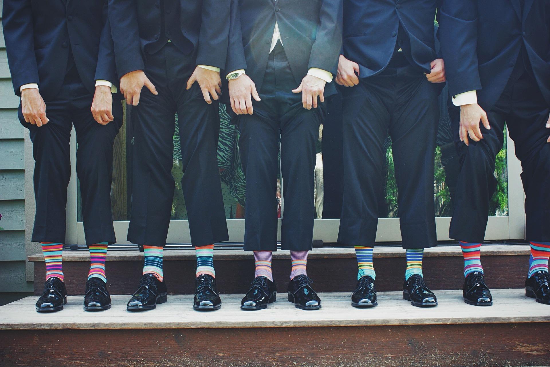 סוגי גרביים עם צורות: טרנדים בשנת 2021